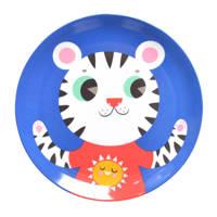 Petit Monkey plat bord (Ø20,3 cm), Blauw