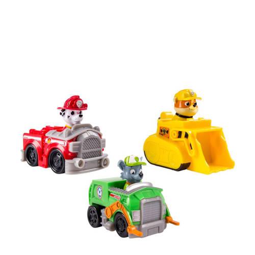 Paw Patrol Rescue Racers (Marshal, Rubble, Rocky) kopen