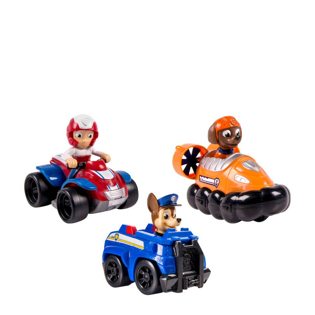 Paw Patrol  Rescue Racers (Chase, Zuma & Ryder)