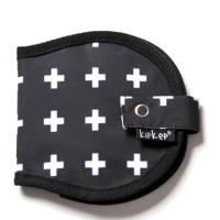 KipKep Napper etui voor borstkompressen crossy black, Crossy black