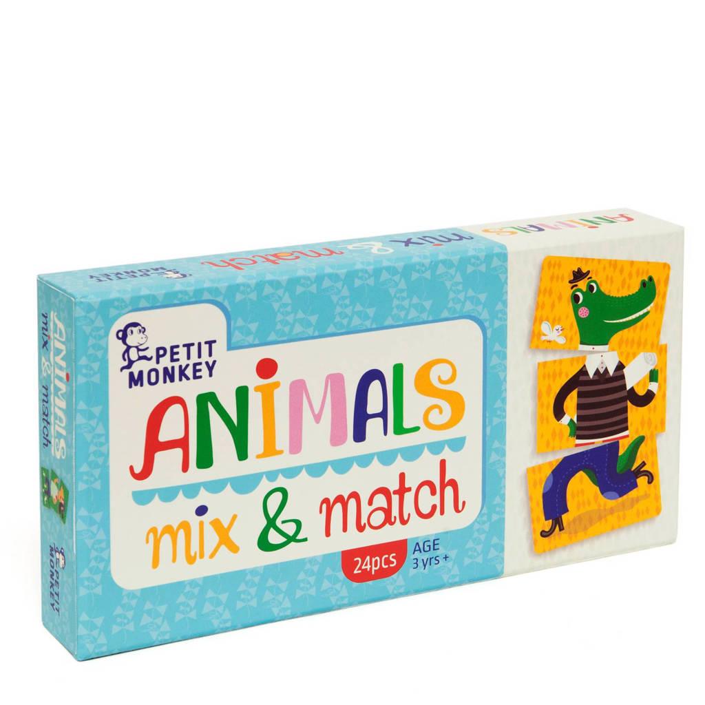 Petit Monkey mix & match spel kinderspel