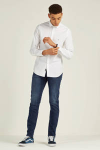 REPLAY slim fit overhemd, Wit