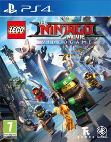 Lego Ninjago movie game (PlayStation 4)
