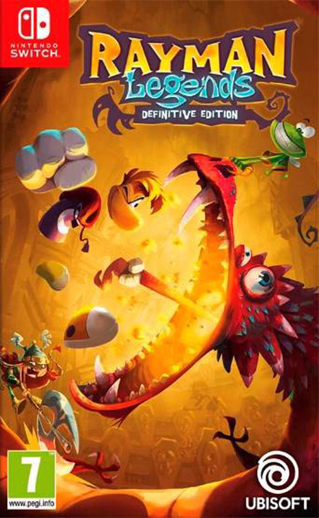 Rayman legends - Definitive edition (Nintendo Switch)