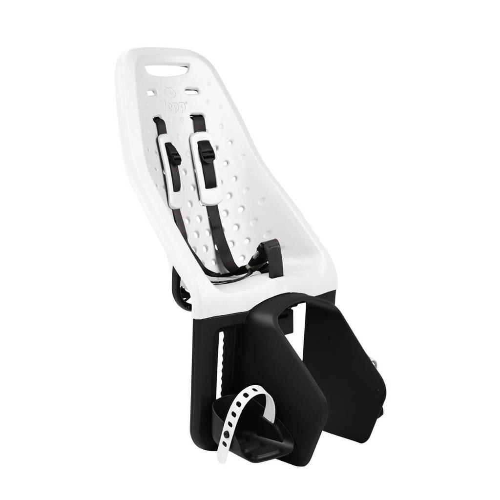 Yepp Maxi fietsstoeltje achter wit, Wit