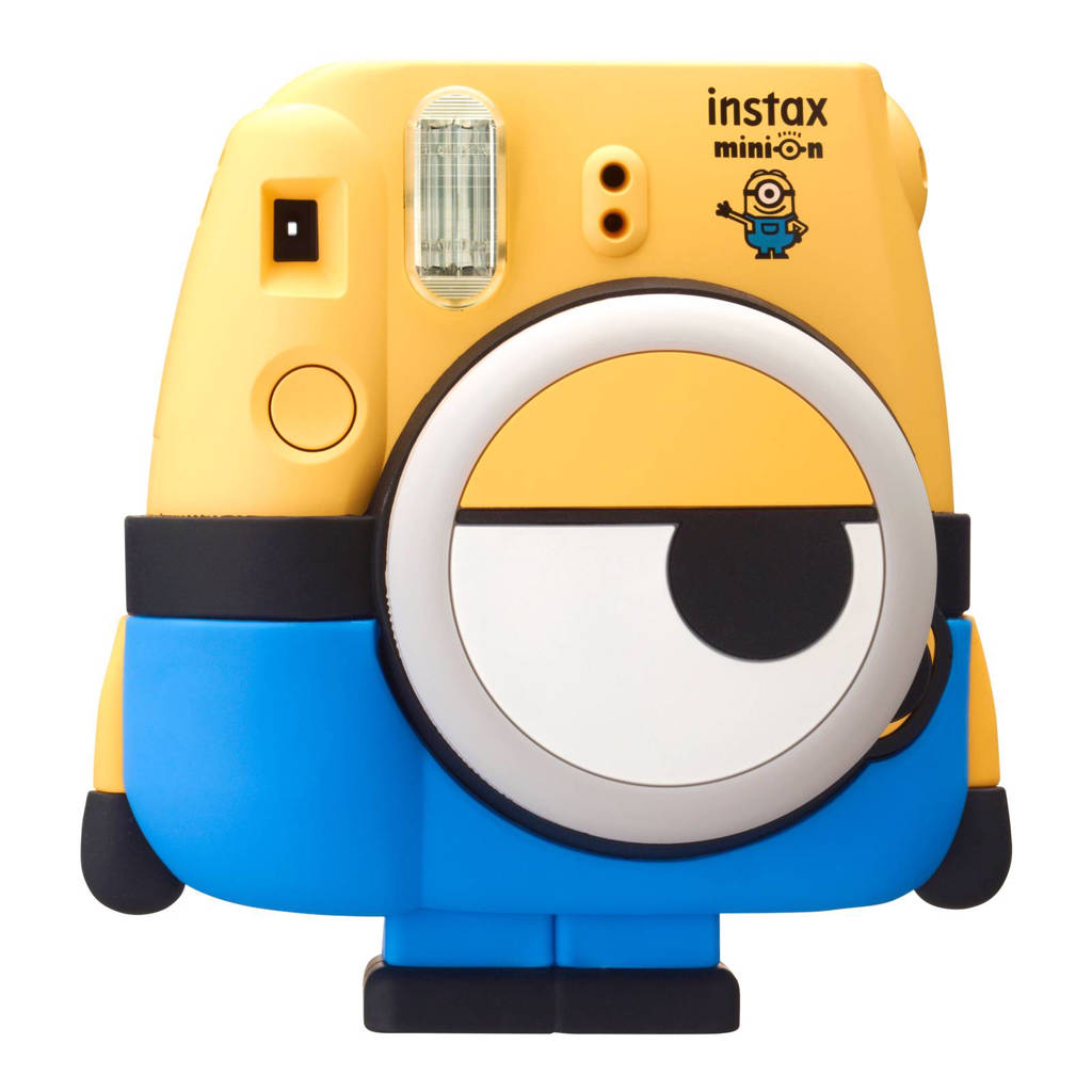Fujifilm Instax Mini 8 Minion camera, Blauw/geel