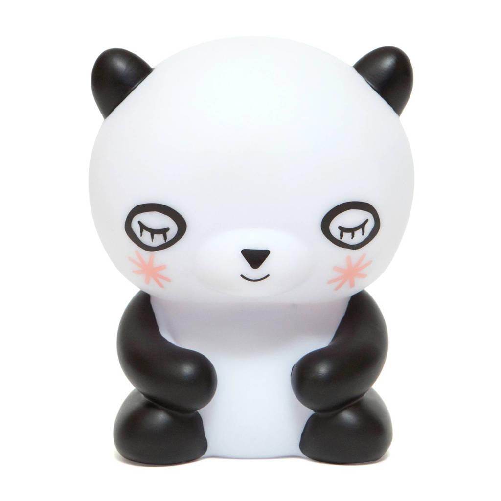 Petit Monkey nachtlampje, Zwart/wit