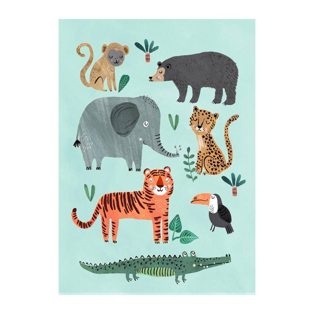 Petit Monkey poster (50x70 cm), Multi