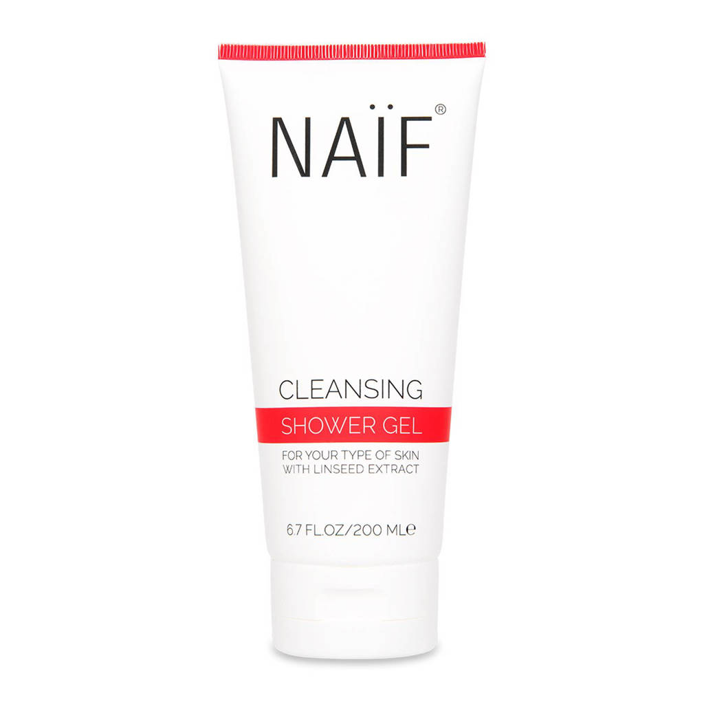 NAÏF Cleansing Shower Gel - 200ml