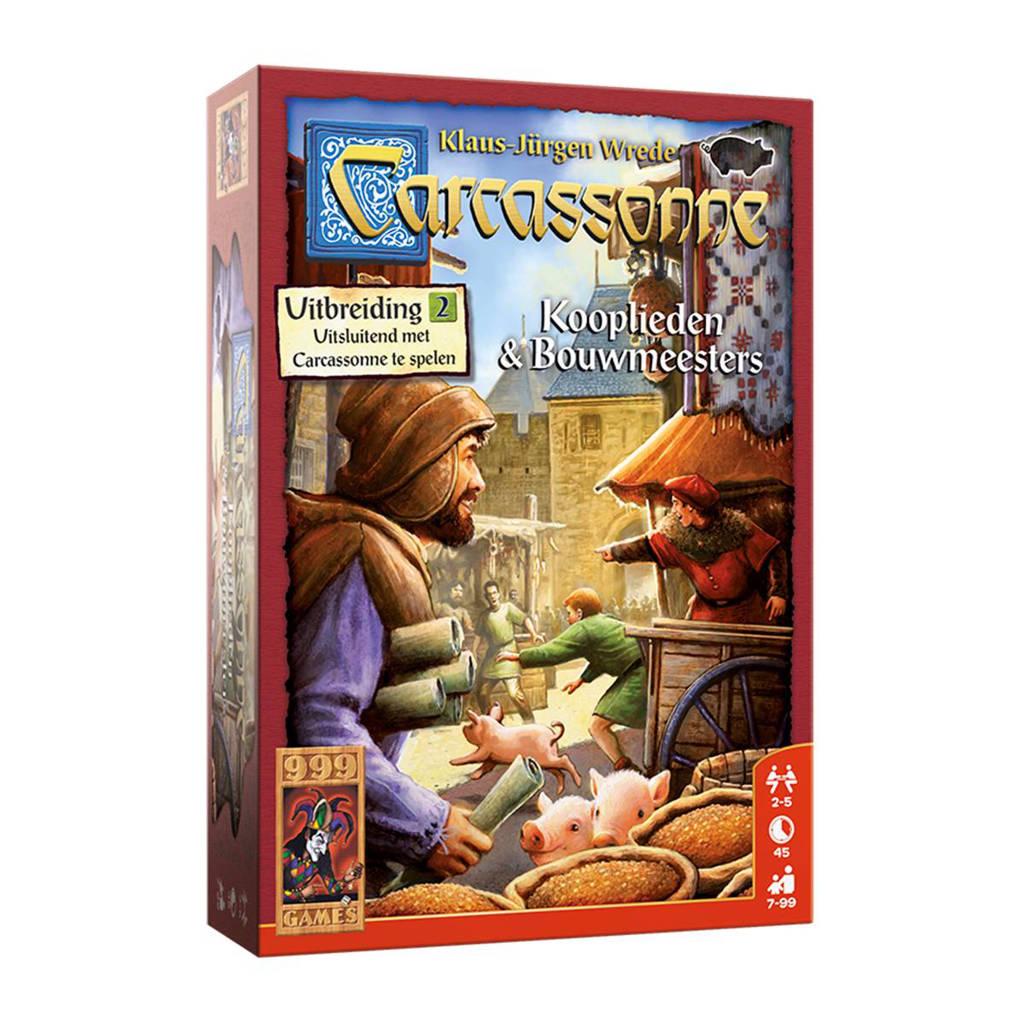 999 Games Carcassonne: kooplieden & bouwmeesters Uitbreidingsspel
