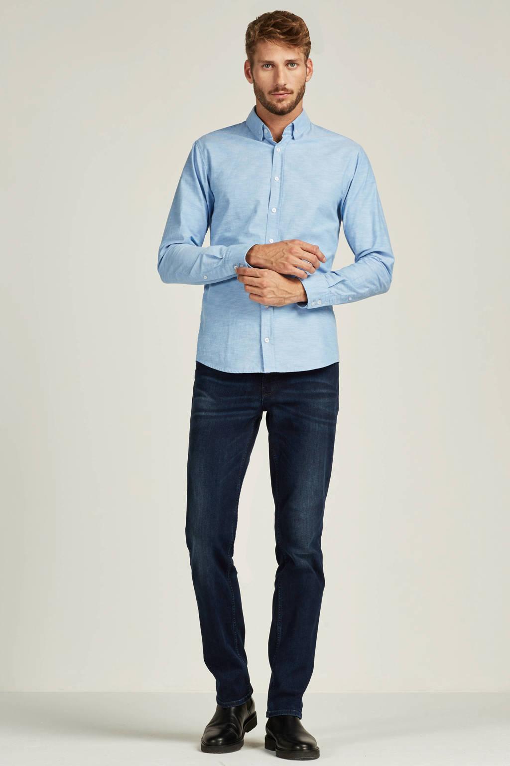 Boss Casual Epreppy slim fit overhemd, Lichtblauw
