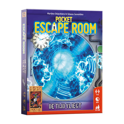 999 Games Pocket Escape Room kaartspel kopen