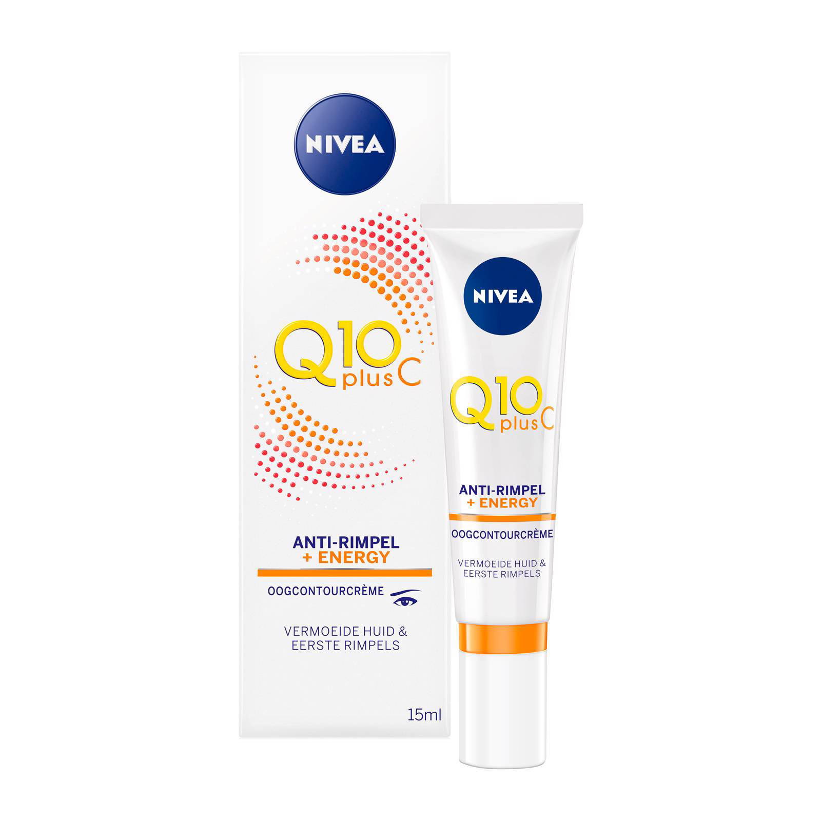NIVEA Q10plusC Anti-Rimpel +Energy Oogcontourcreme - 15ml