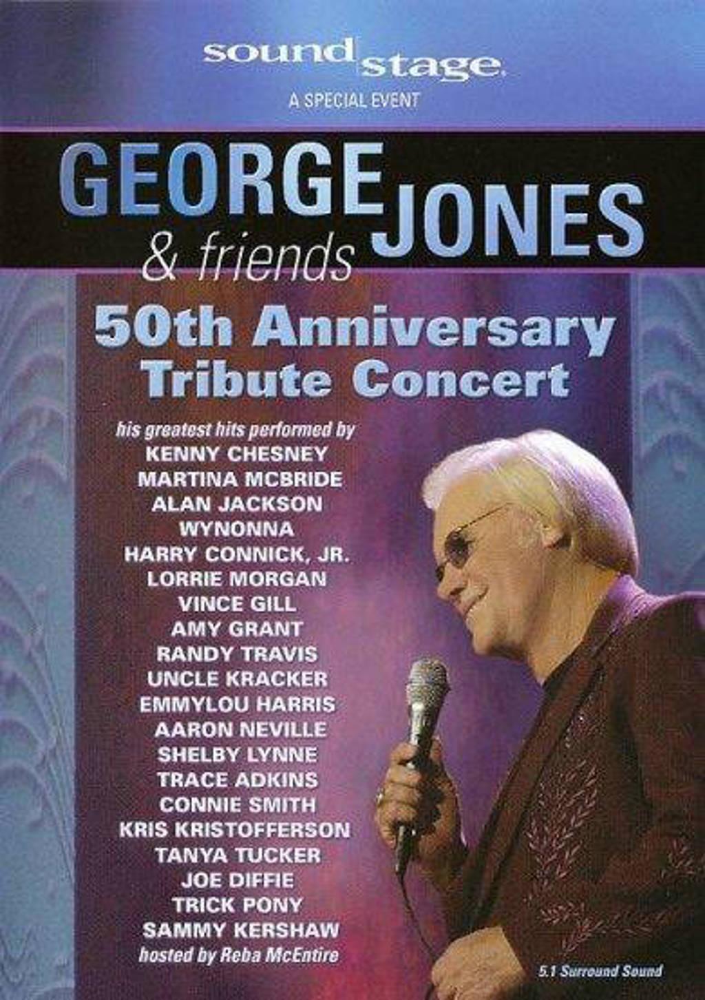 George Jones & friends - 50 Years of hits (DVD)