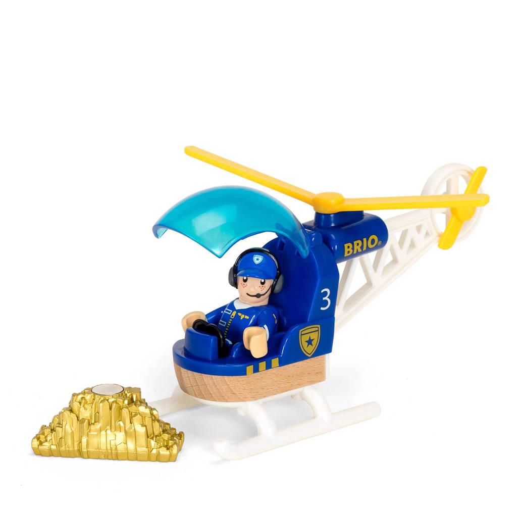 Brio houten politie helicopter