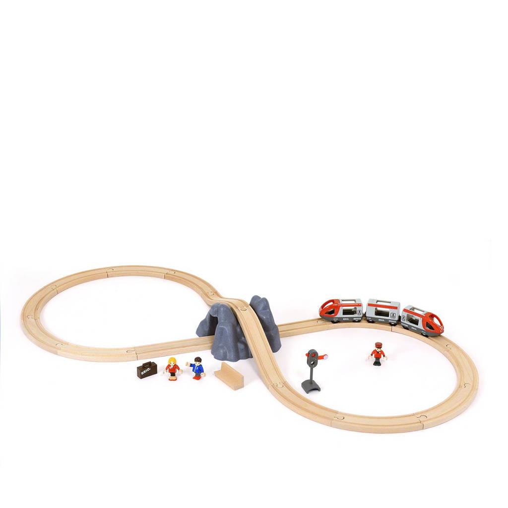 Brio houten trein starterset A