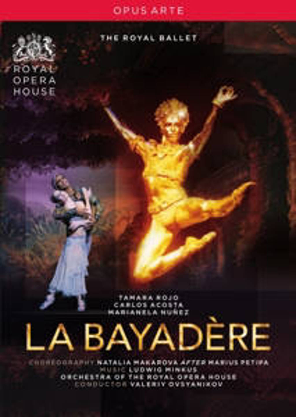 Makarova/The Royal Ballet - La Bayadere (DVD)