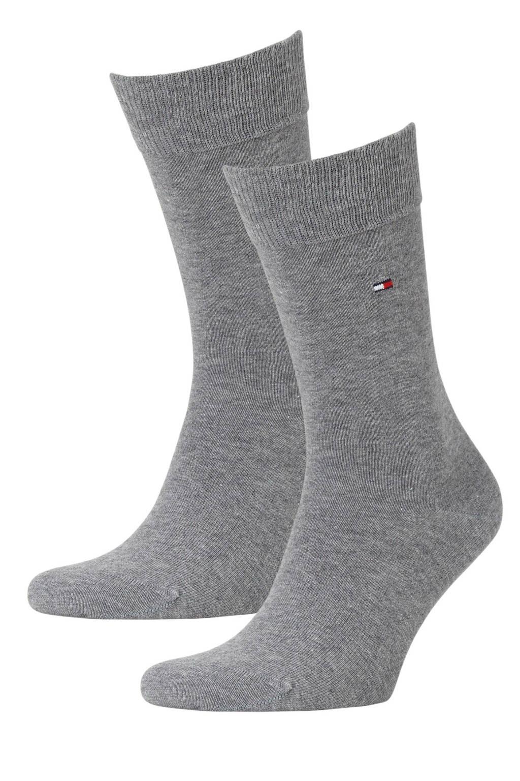 Tommy Hilfiger sokken -set van 2 grijs, Grijs