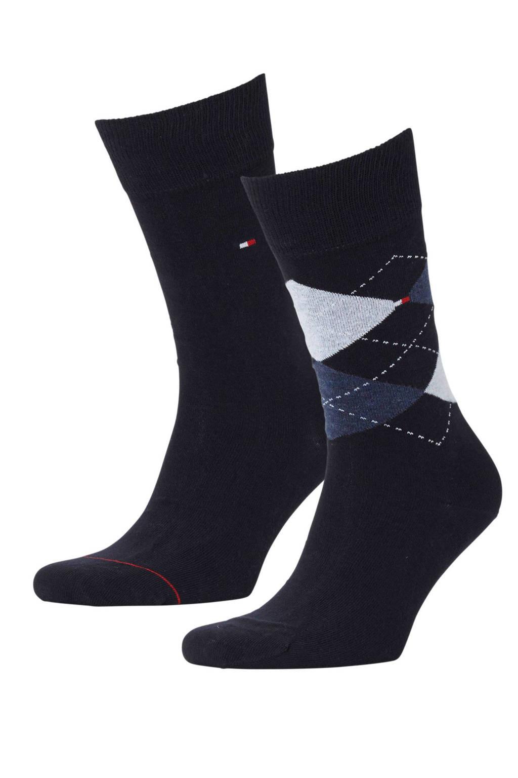 Tommy Hilfiger sokken (2 paar), Donker blauw