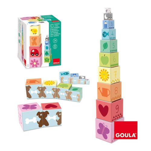 Goula 1 tot 10 stapelblokken 10 stuks kopen