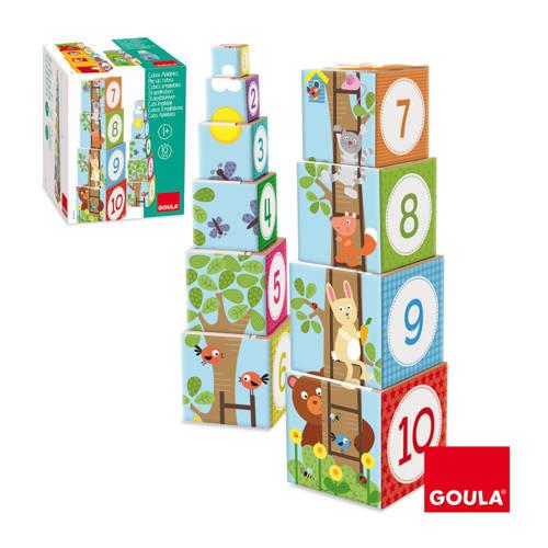 Goula bos stapelblokken 10 stuks kopen