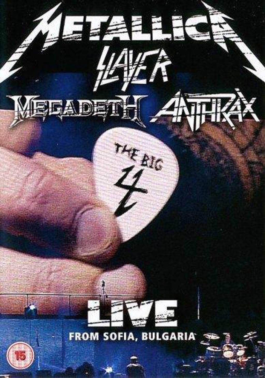 Metallica/Slayer/Megadeth/Anthrax - The Big Four: Live From Sofia Bulga (DVD)