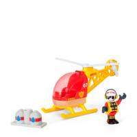 Brio houten brandweer helikopter