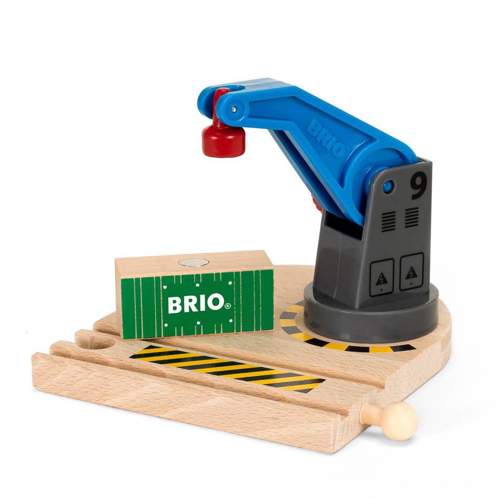 Brio houten lage hijskraan