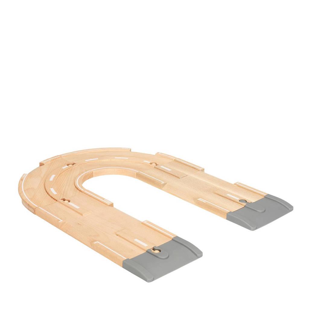 Brio houten wegen uitbreidingsset