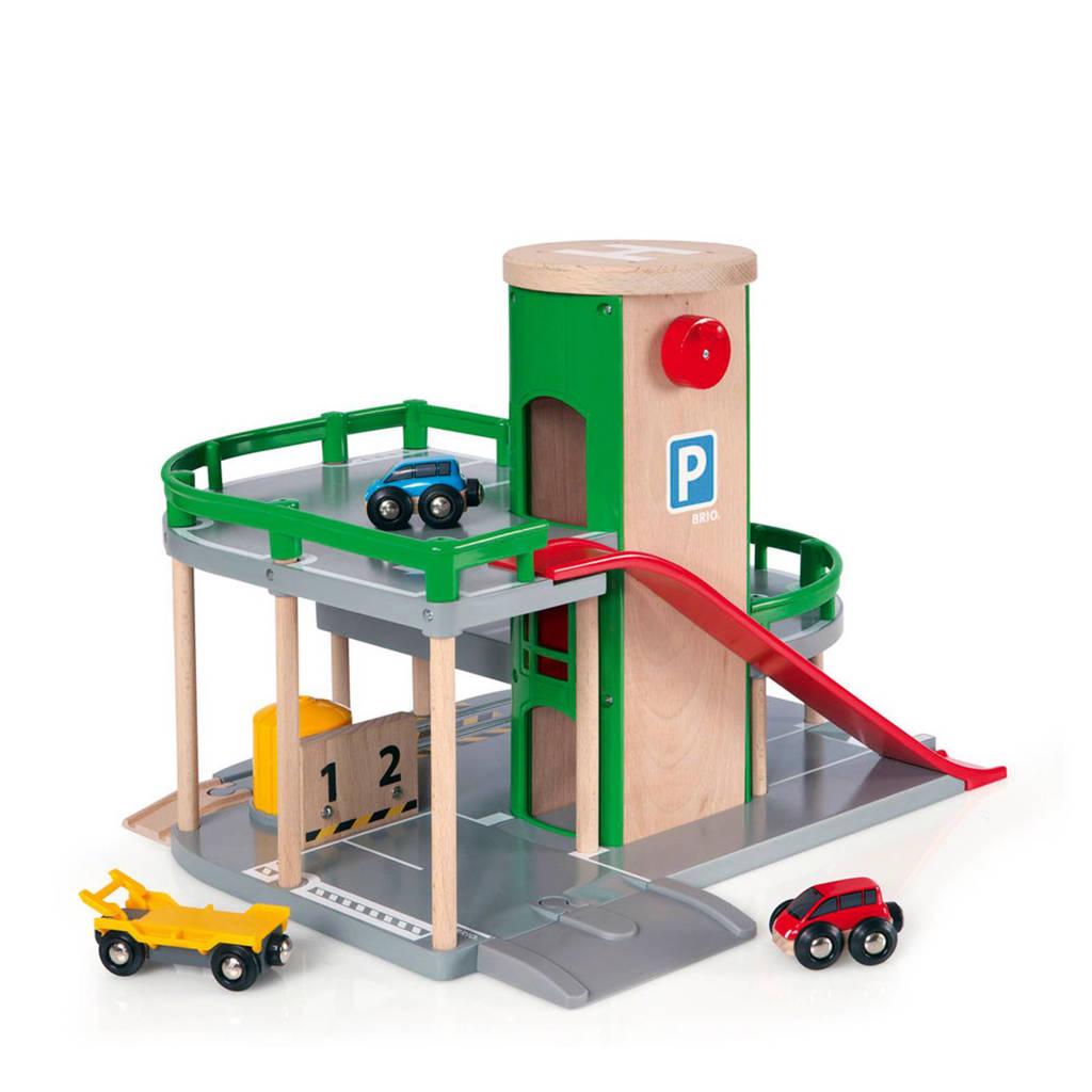 Brio houten parkeergarage