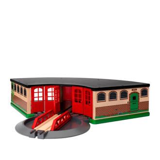 houten treinremise
