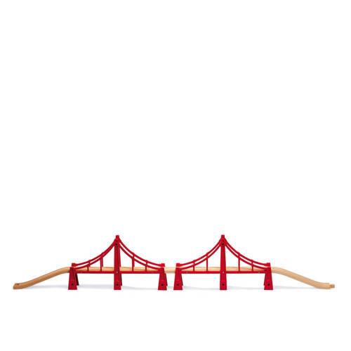 Brio houten dubbele hangbrug kopen