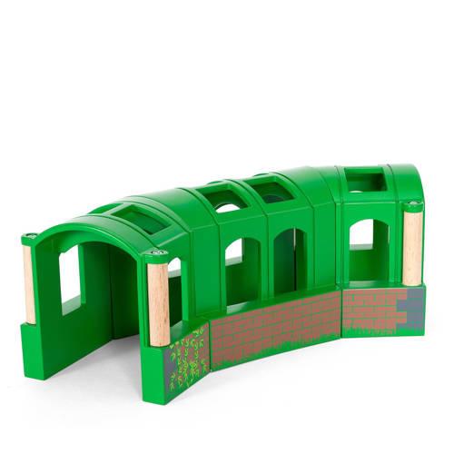 Brio houten groene flexibele tunnel kopen