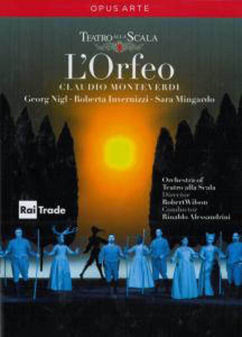 Nigl/Invernizzi/De Donato/Concerto - L Orfeo (DVD)