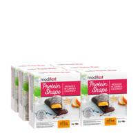 Modifast PS Reep Pure Chocolade en Sinaas - 1 doos met 6 stuks