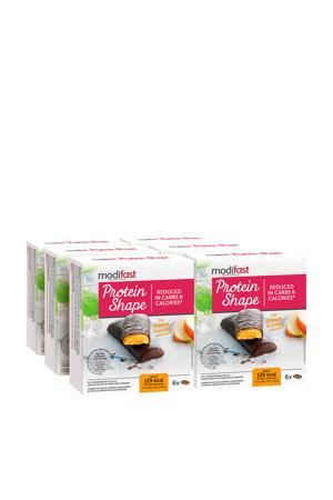 PS Reep Pure Chocolade en Sinaas - 1 doos met 6 stuks