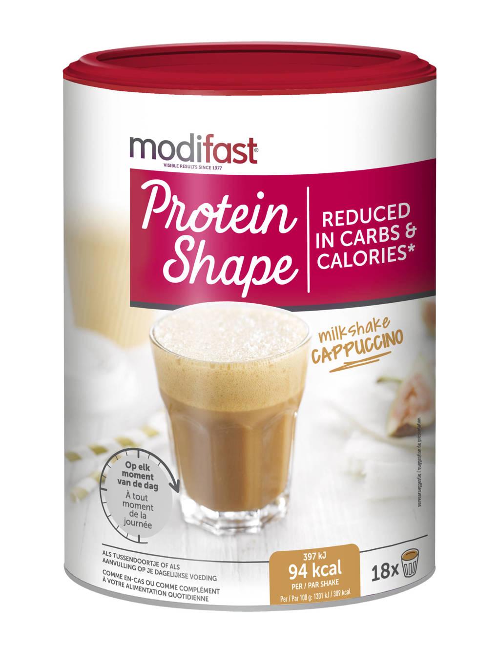 Modifast PS Milkshake Cappuccino - 1 blik 540 gram