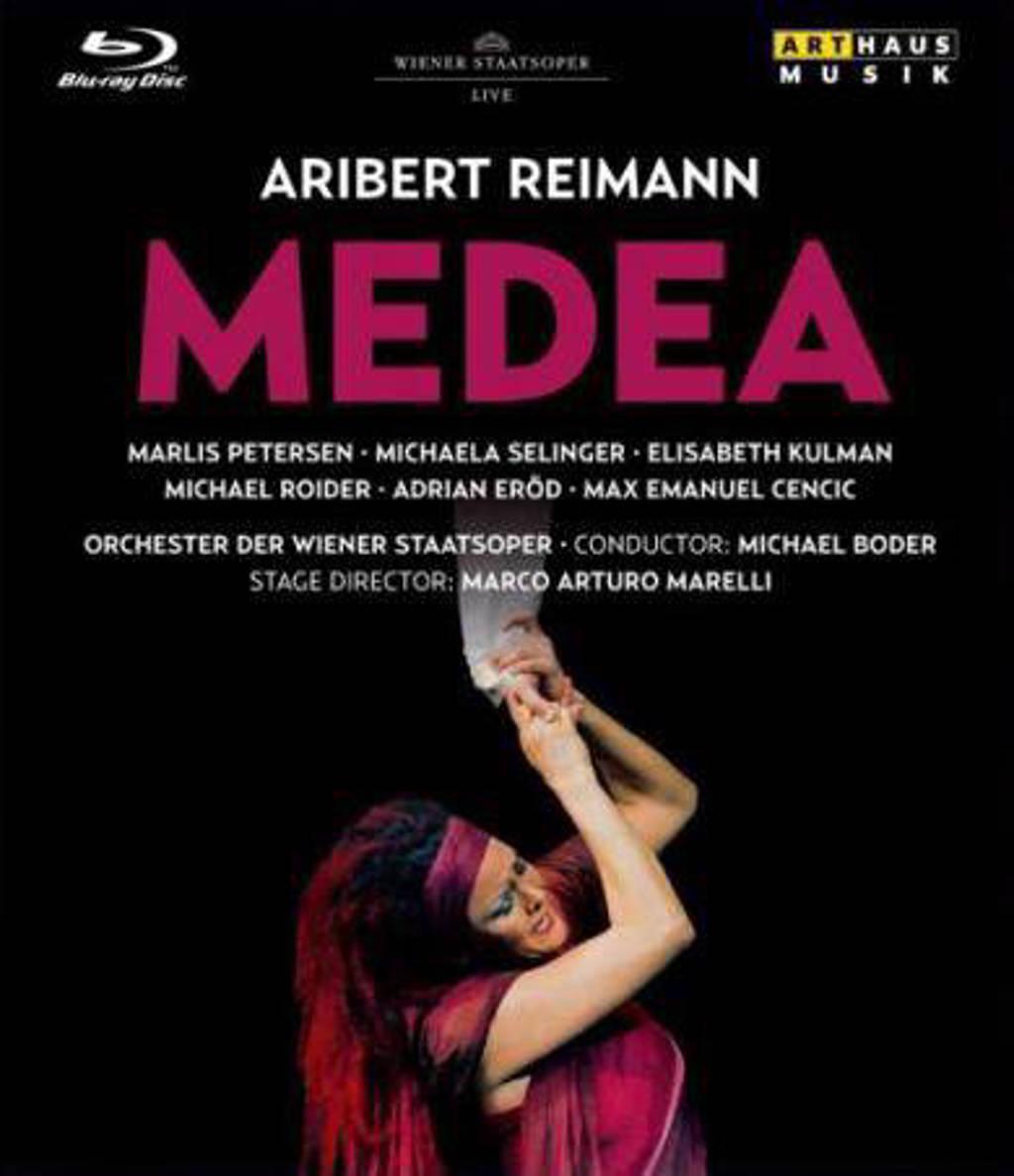 Petersen,Selinger,Kulman,Roider - Medea Weense Staatsopera 2010,Blura (Blu-ray)