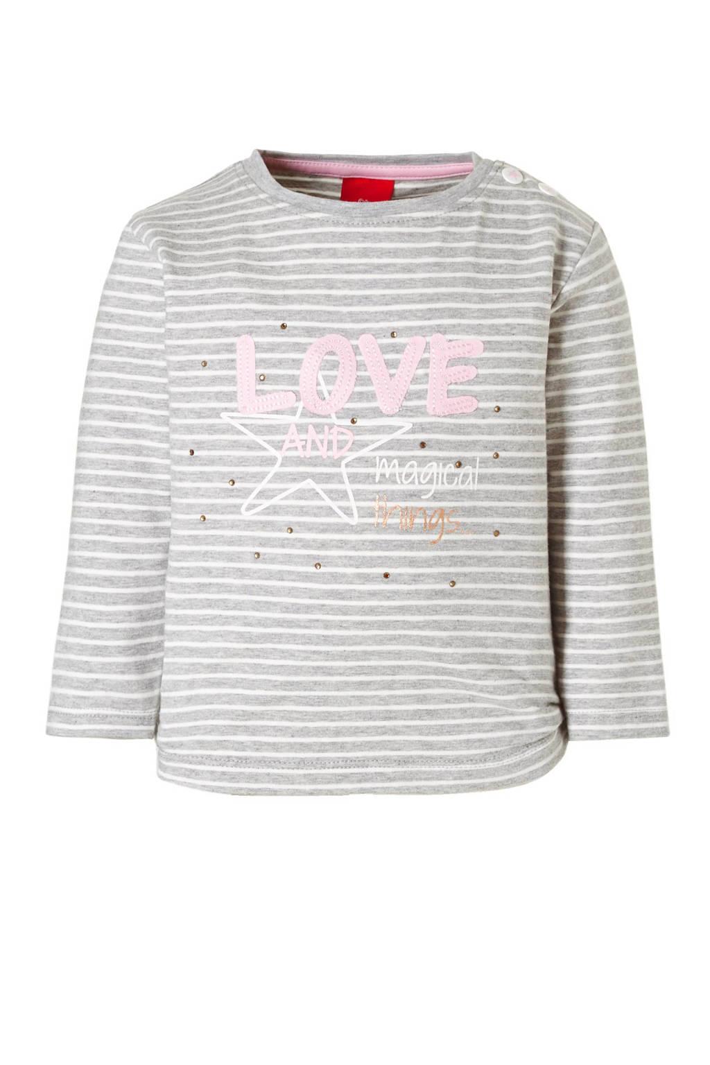 s.Oliver T-shirt, Grijs