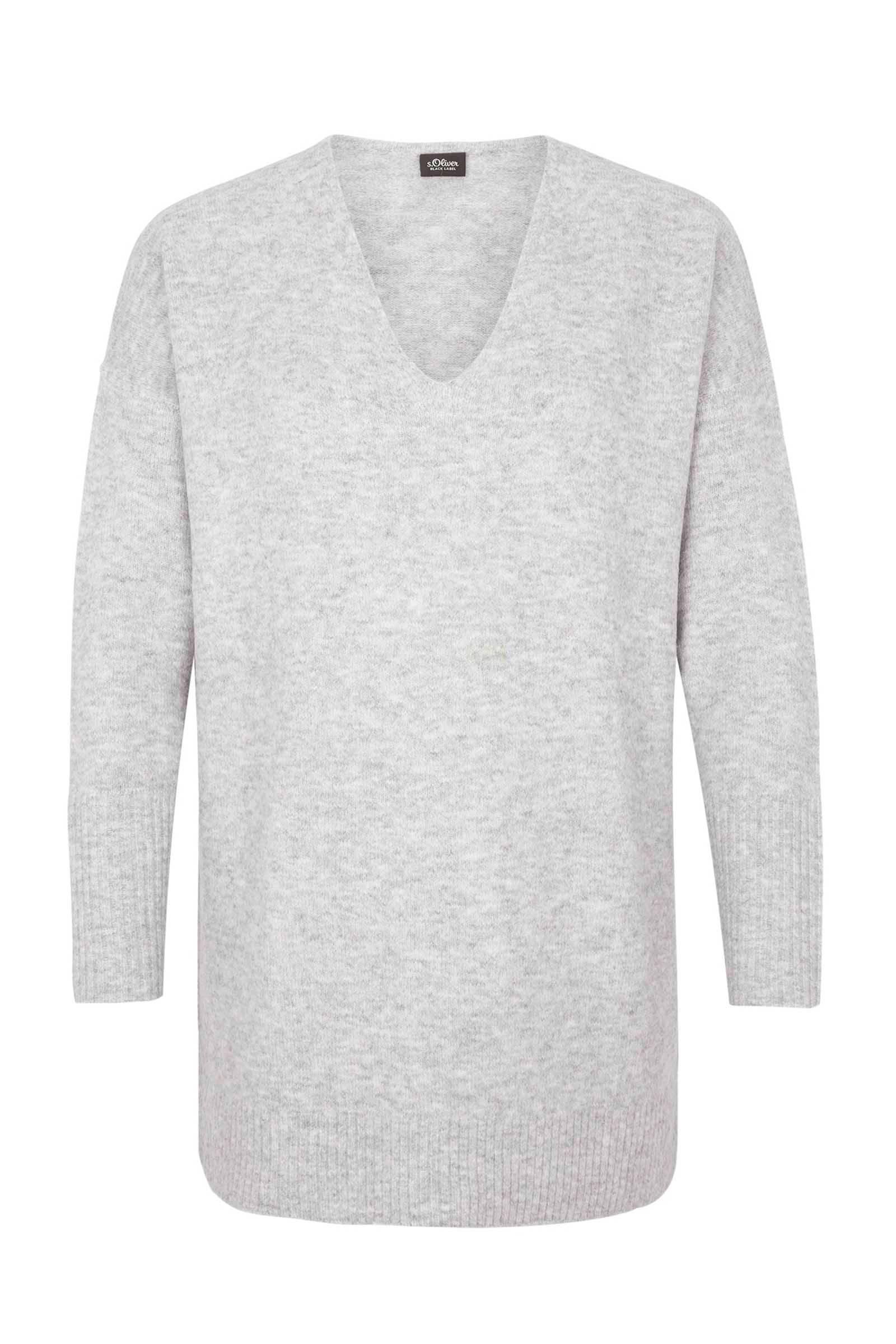 s.Oliver BLACK LABEL lange trui met wol | wehkamp