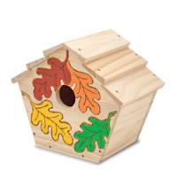 Melissa & Doug houten vogelhuis knutselset