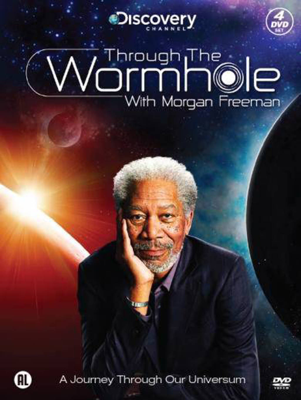 Through the wormhole with Morgan Freeman (DVD)