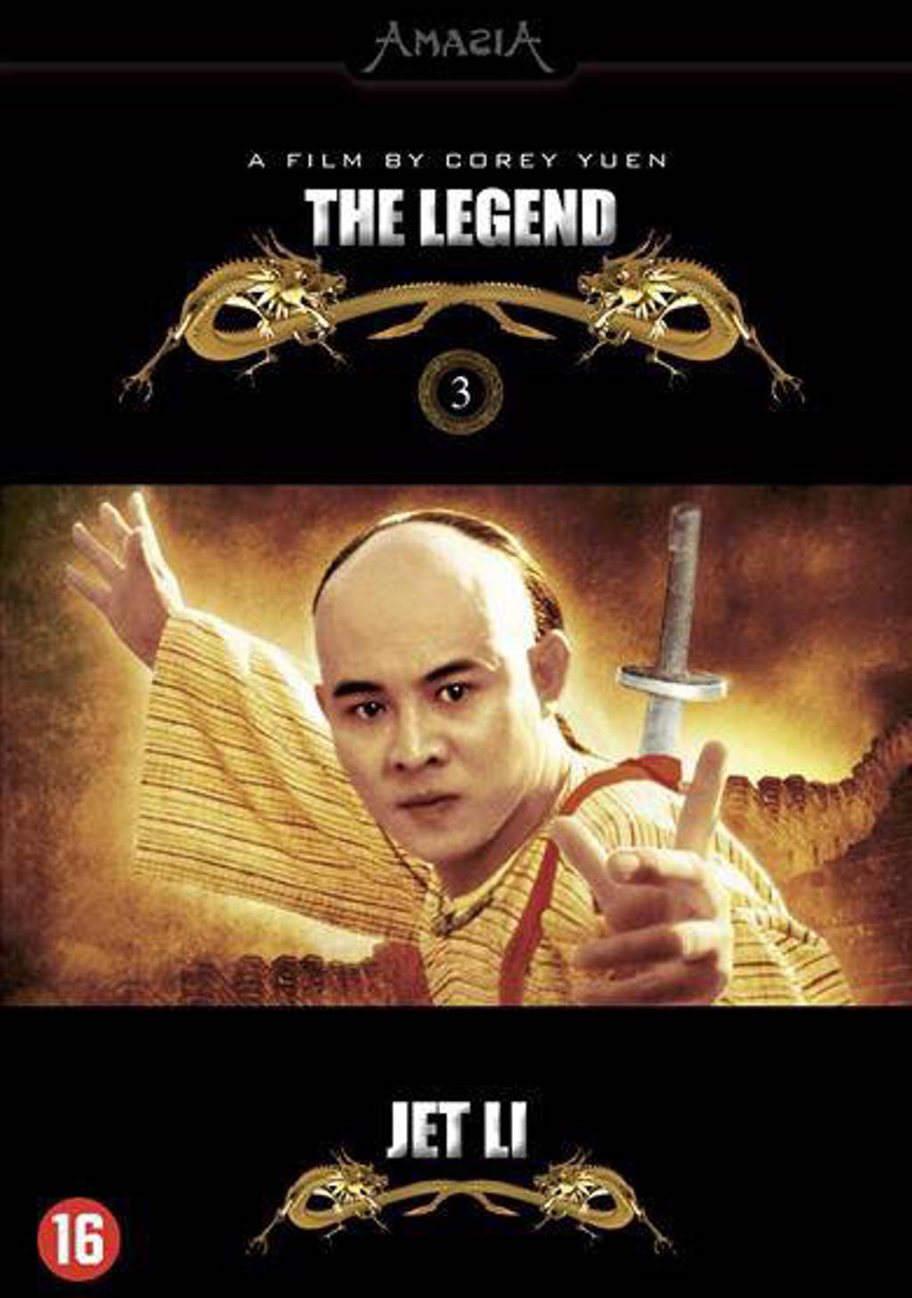 Jet Li collection - The Legend (DVD)