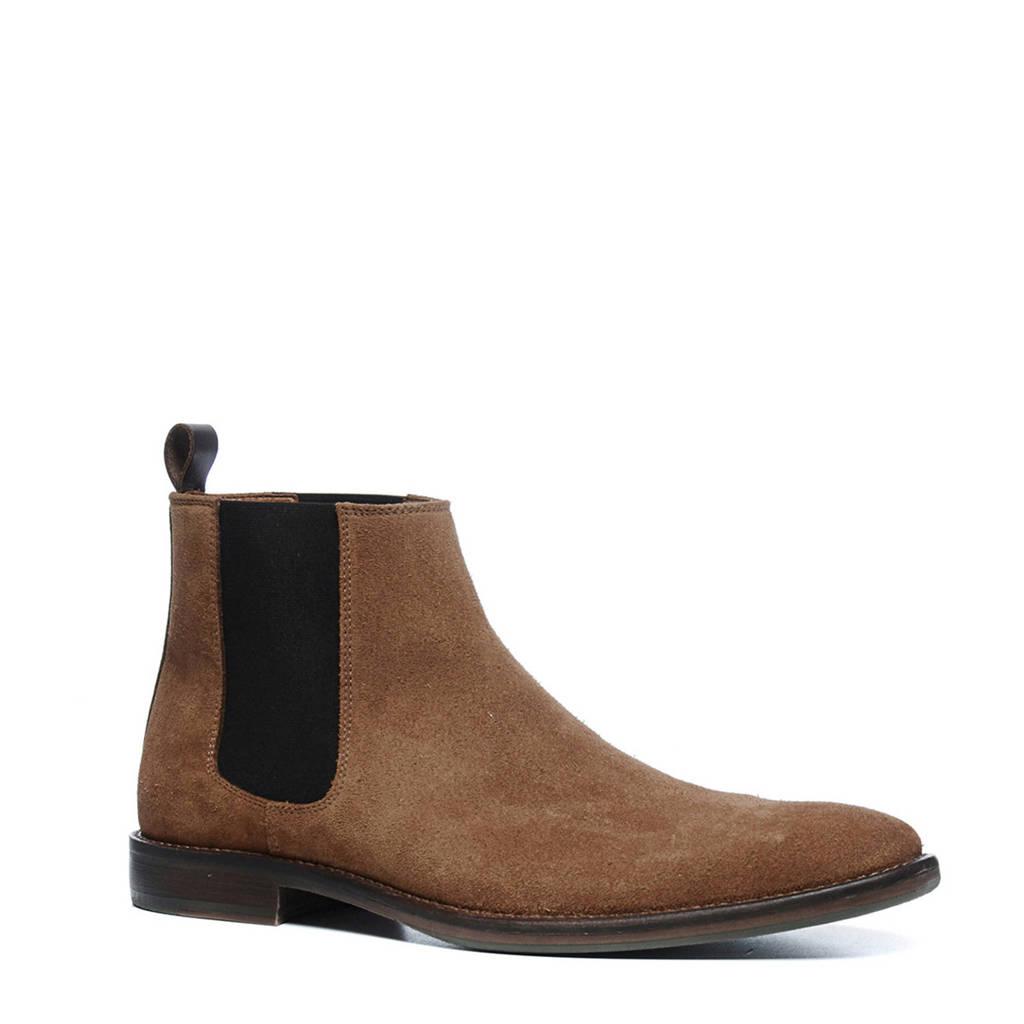 Sacha suède chelsea boots, Camel