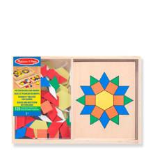 patronen legbord houten vormenpuzzel 120 stukjes