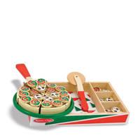 Melissa & Doug houten speelgoed pizza