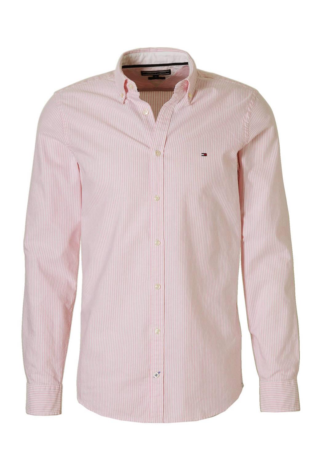 Heren Overhemd Roze.Tommy Hilfiger Ithaca Slim Fit Overhemd Wehkamp