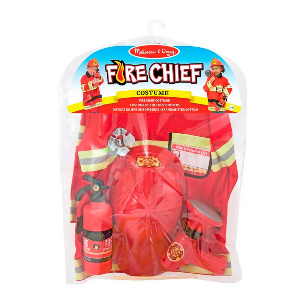 Melissa & Doug brandweerman verkleedset