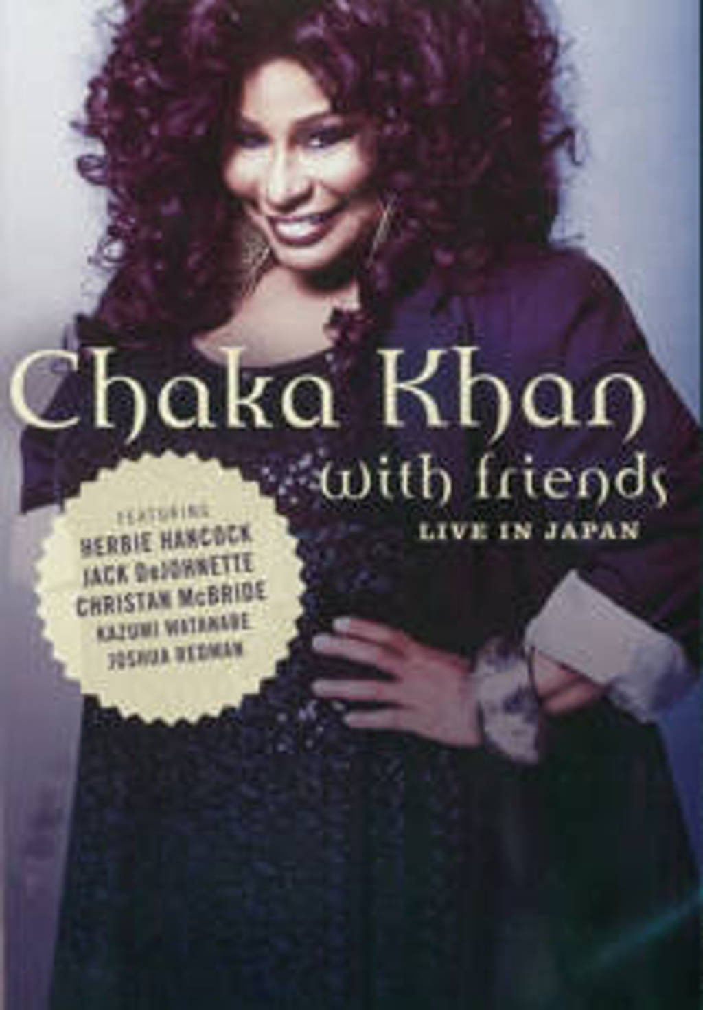 Chaka Khan - With Friends/Live In Japan (DVD)