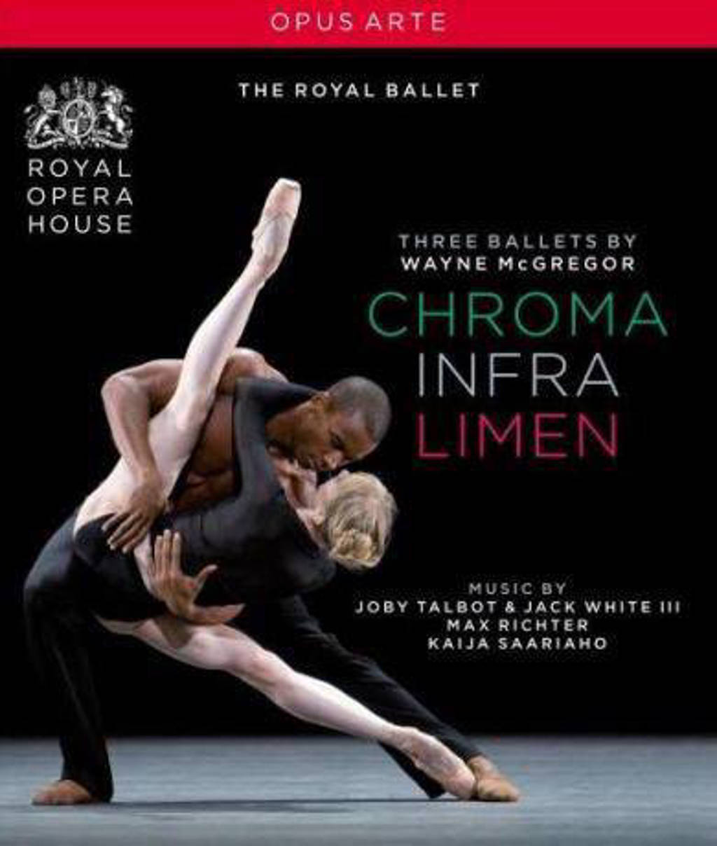 Bonelli/Cervera/Rojo//The Royal Bal - Chroma/Infra/Limen (Blu-ray)